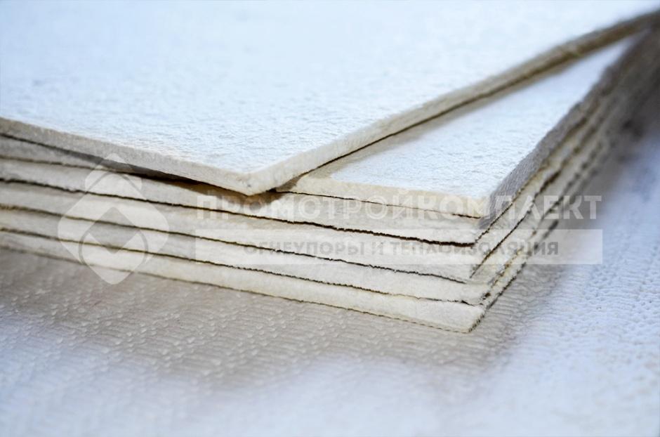 Листовые огнеупорные материалы на основе цемента